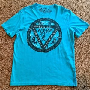 Mens Express Size XL Graphic Cotton Tee Shirt